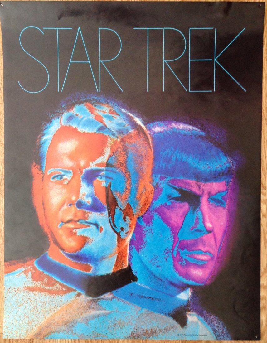 1974 STAR TREK POSTER
