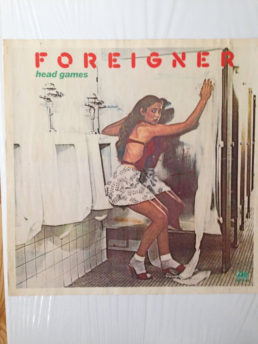 FOREIGNER - HEAD GAMES POSTER - 1979