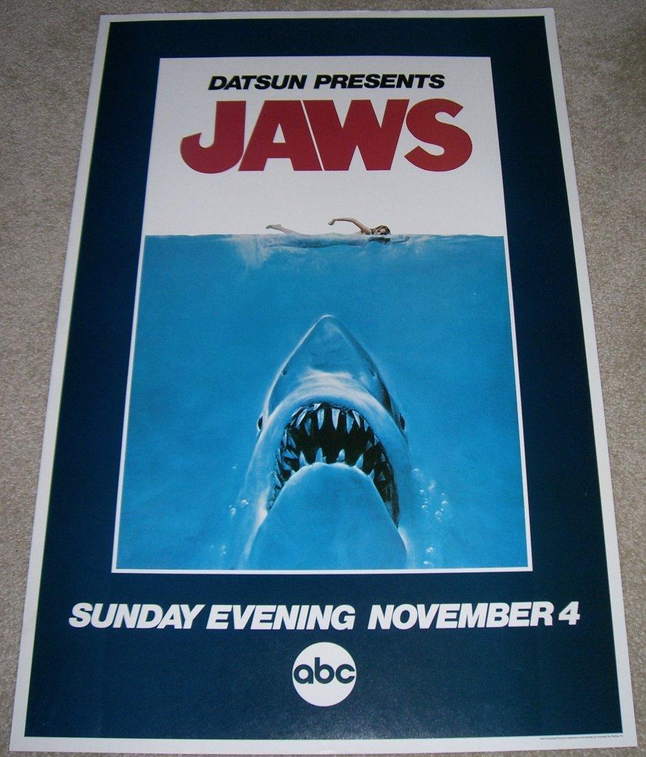 JAWS  ABC SUNDAY NIGHT MOVIE 1979