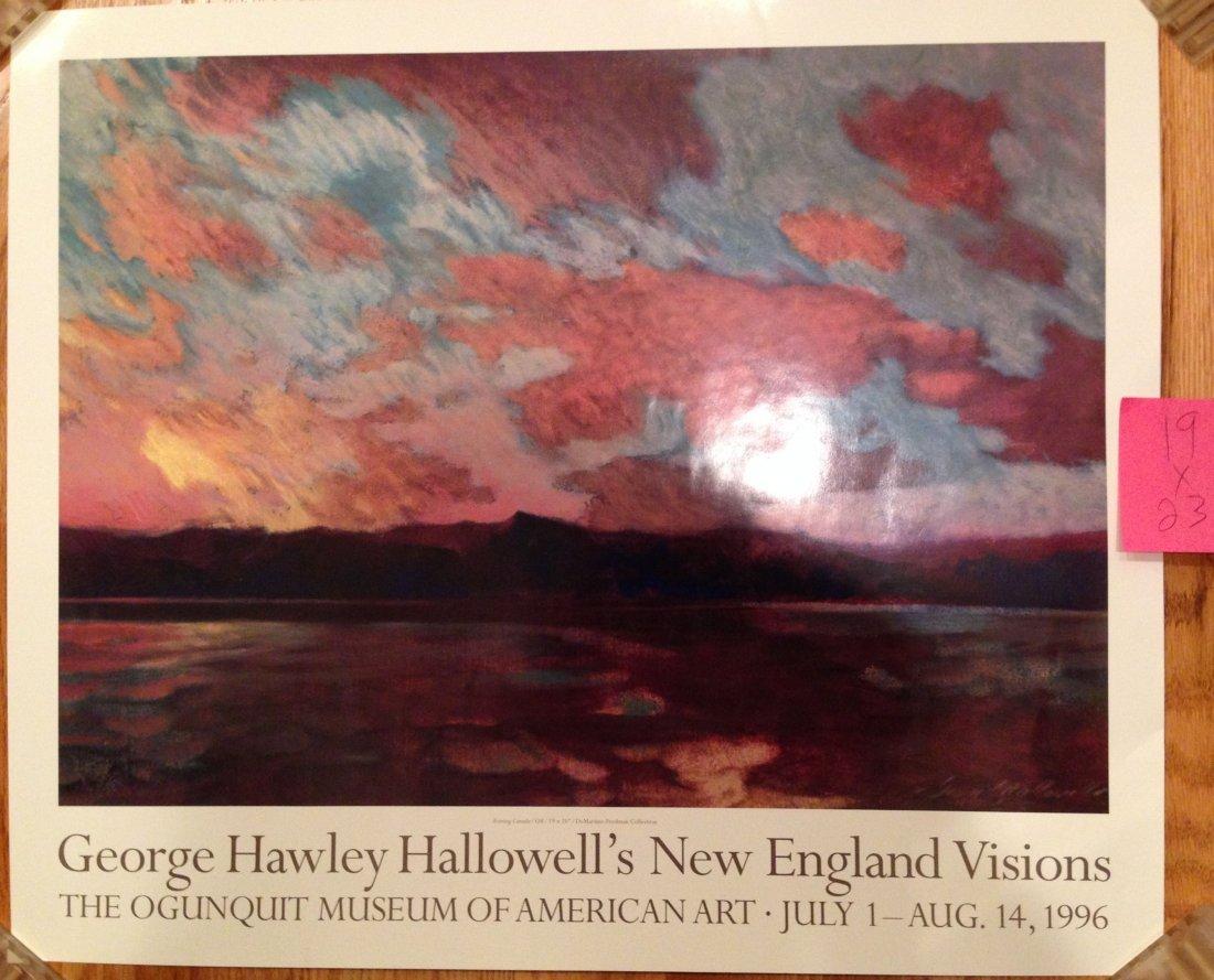 GEORGE HAWLEY HALLWELLS's NEW ENGLAND VISIONS