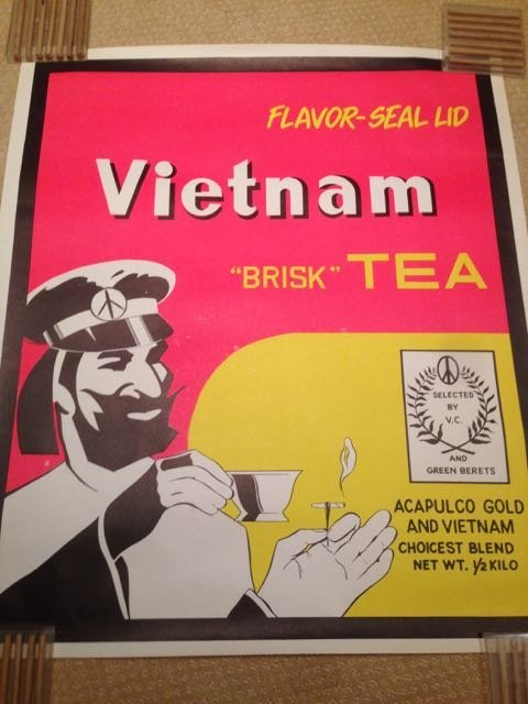 RARE AND NEAR MINT VIETNAM BRISK TEA