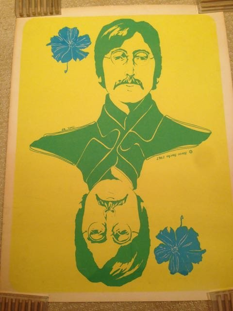 BEATLES BLACKLIGHT COLLECTION - COMPLETE - RARE ! '67