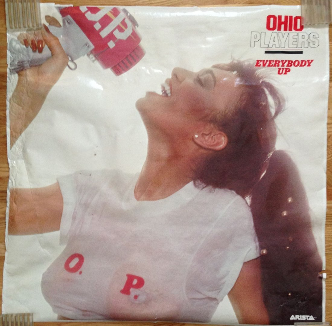 Ohio Players - Everybody Up - HUGE POSTER