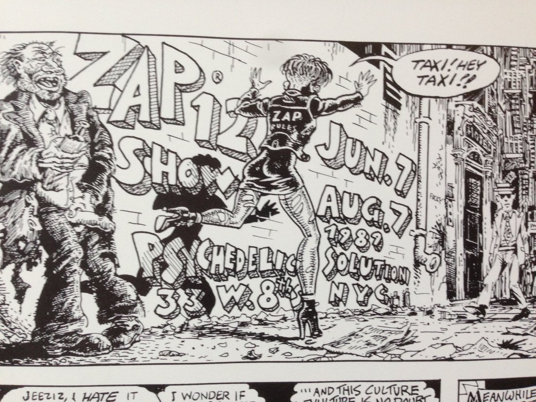 Rotten to the Core, A Zap Jam, Robert Crumb Poster - 5