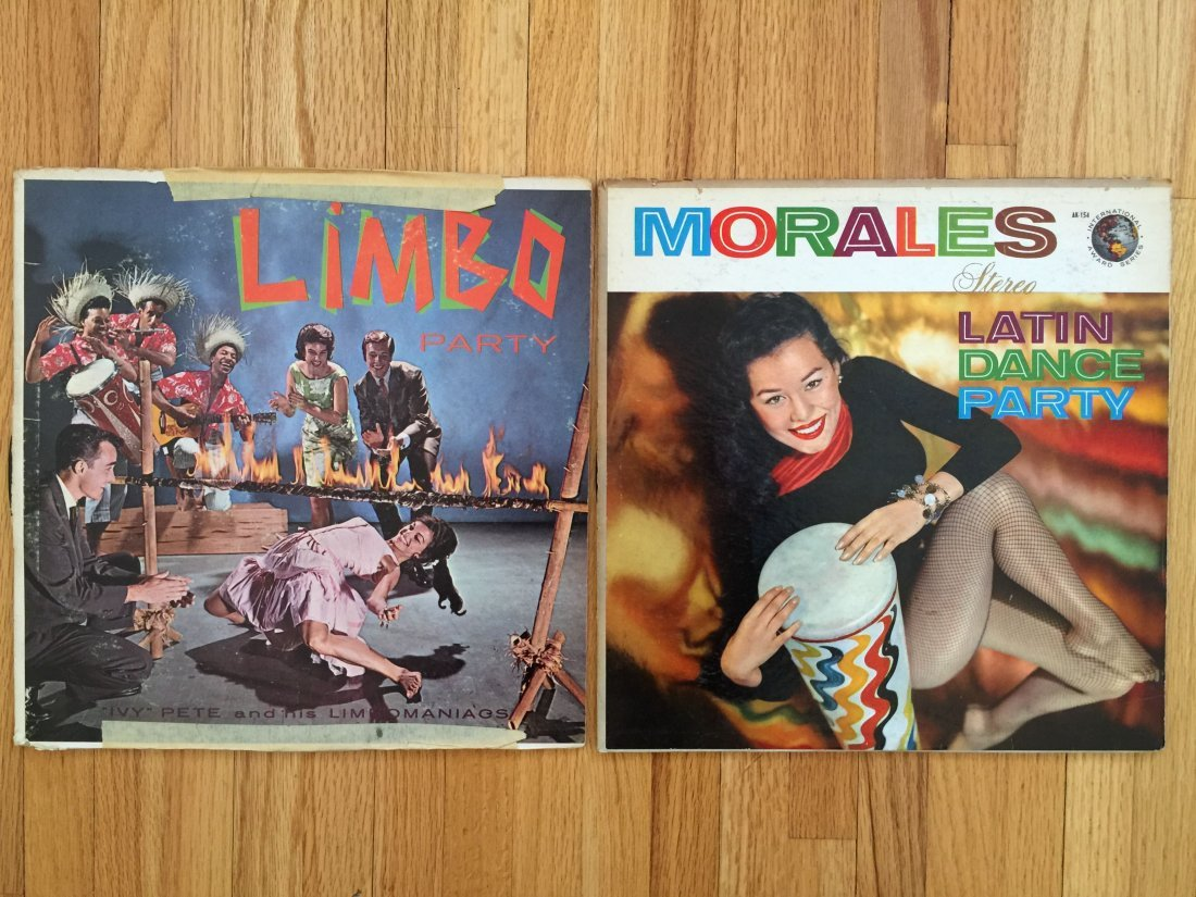 2 VINTAGE ALBUMBS - LIMBO PARTY - LATIN DANCE PARTY