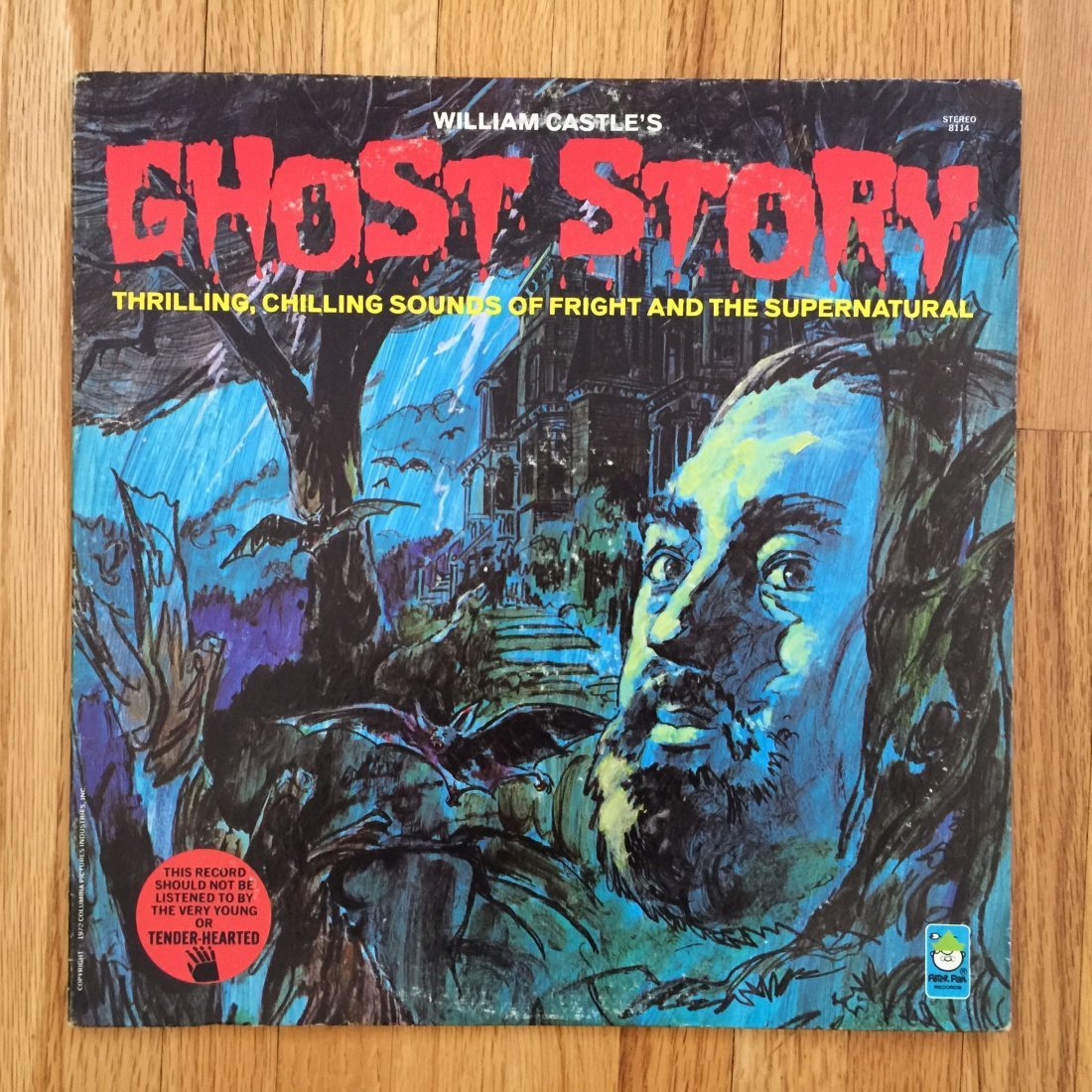 GHOST STORY 33LP RECORD