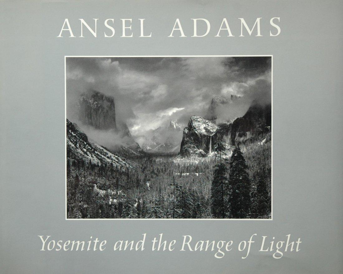 ADAMS, Ansel. Yosemite and the Range of Light, 1979