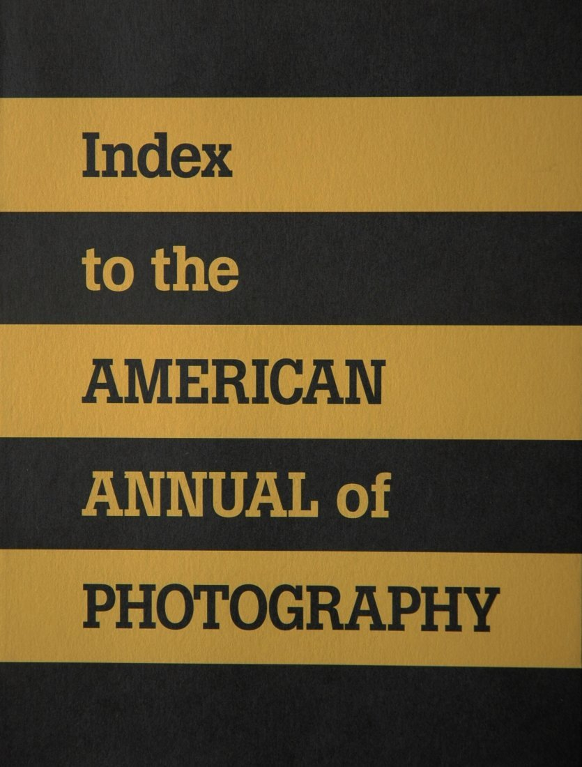 AMERICAN ANNUAL OF PHOTOGRAPHY. Christian A. Peterson