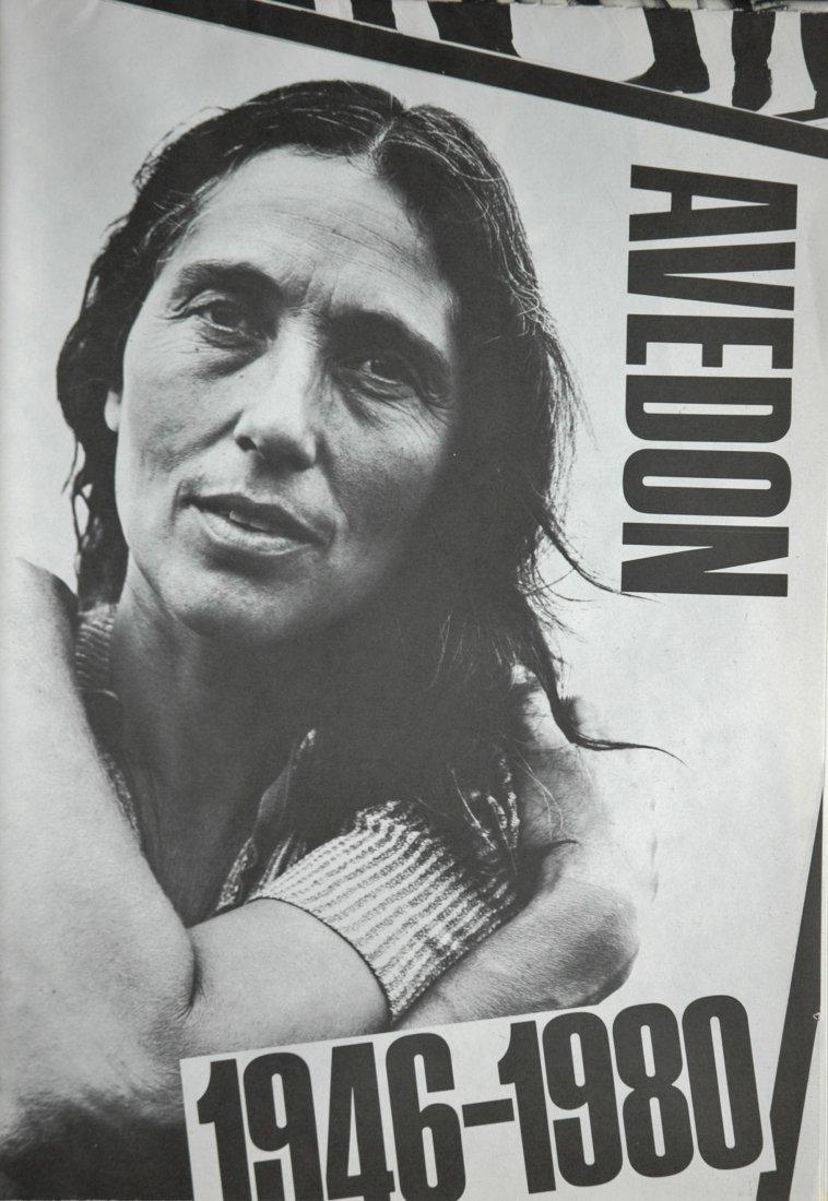 AVEDON, Richard.  Avedon, 1946-1980 Museum Poster