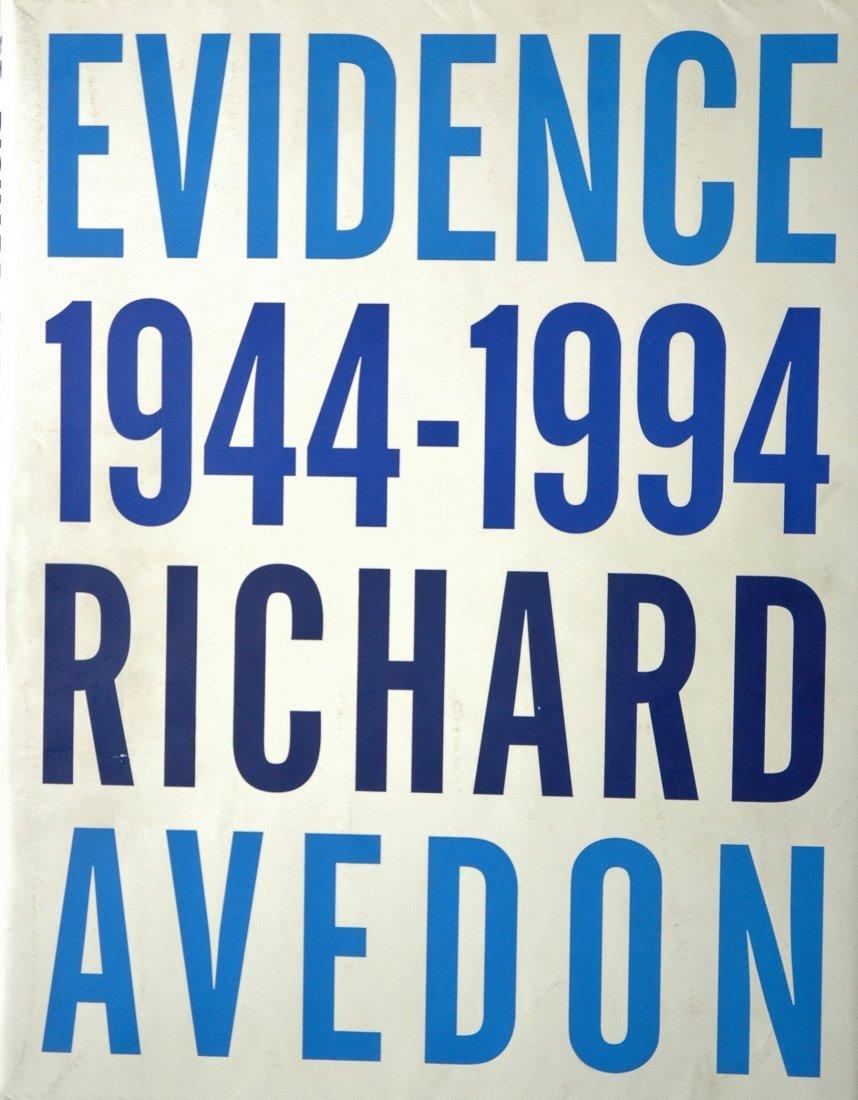 AVEDON, Richard. Evidence, 1944-1994, Random House 1994