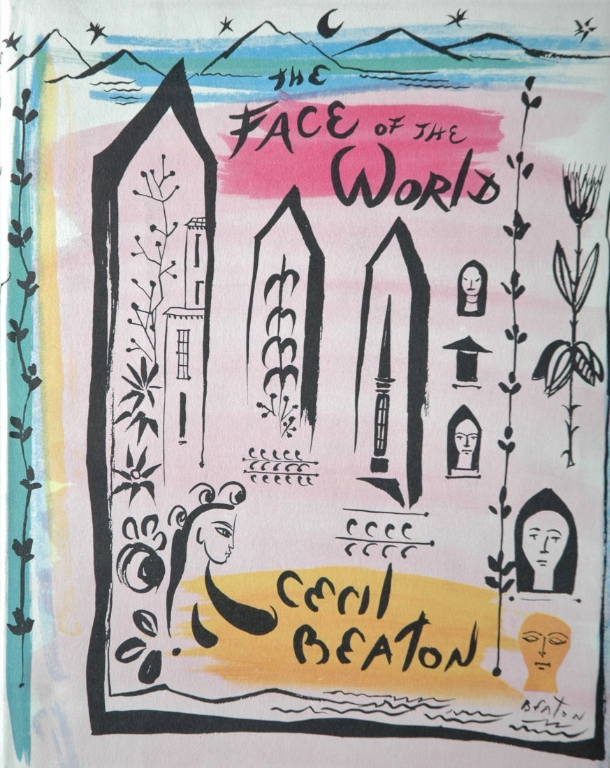 BEATON, Cecil. The Face of the World: 1957