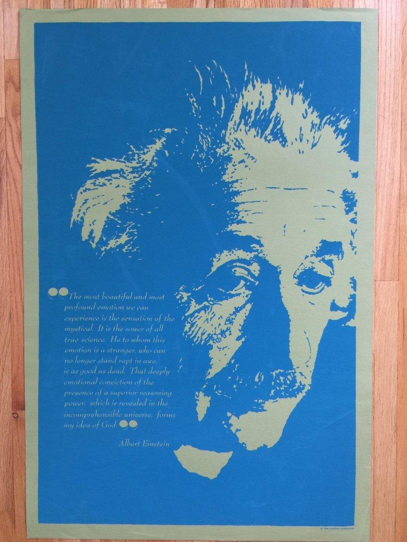ALBERT EINSTEIN - 1966 PANDORA PRODUCTIONS POSTER