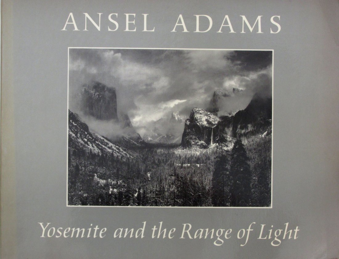 Adams, Ansel - Yosemite and the range of light - NYGS -