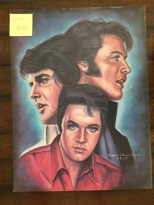Elvis By Debra Colburn Rouen