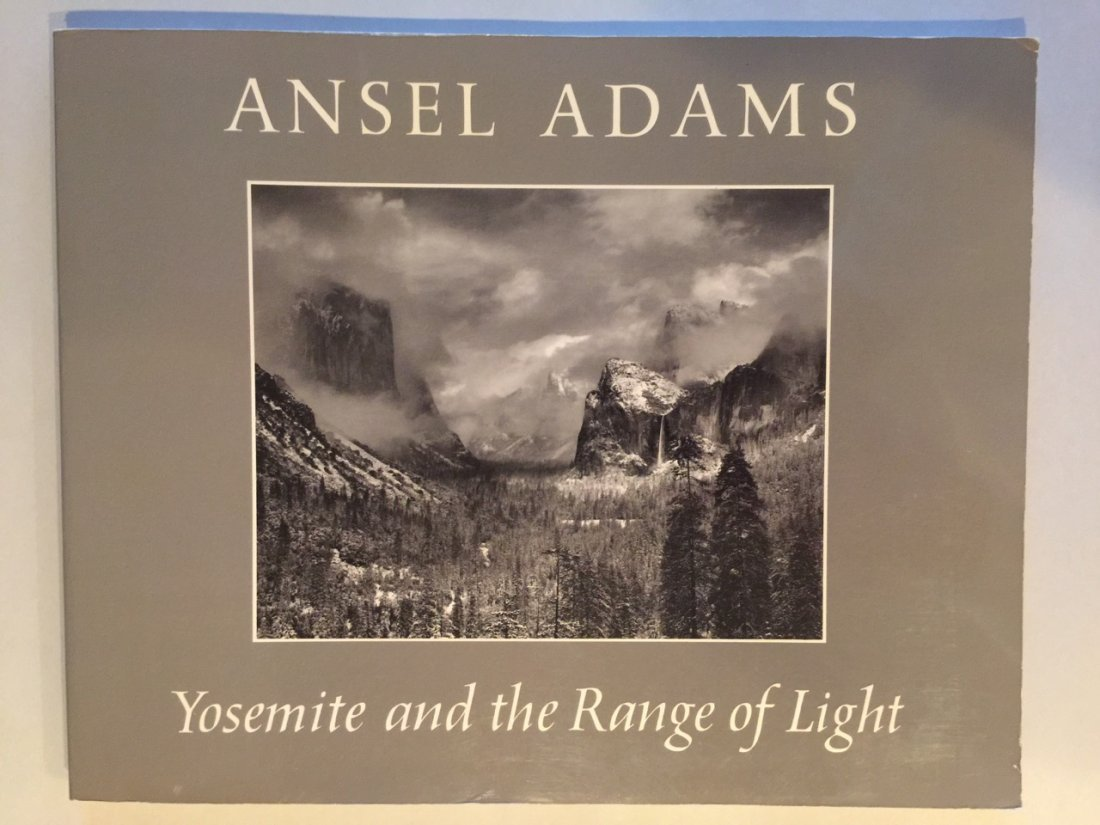 Adams, Ansel - Yosemite and the range of light