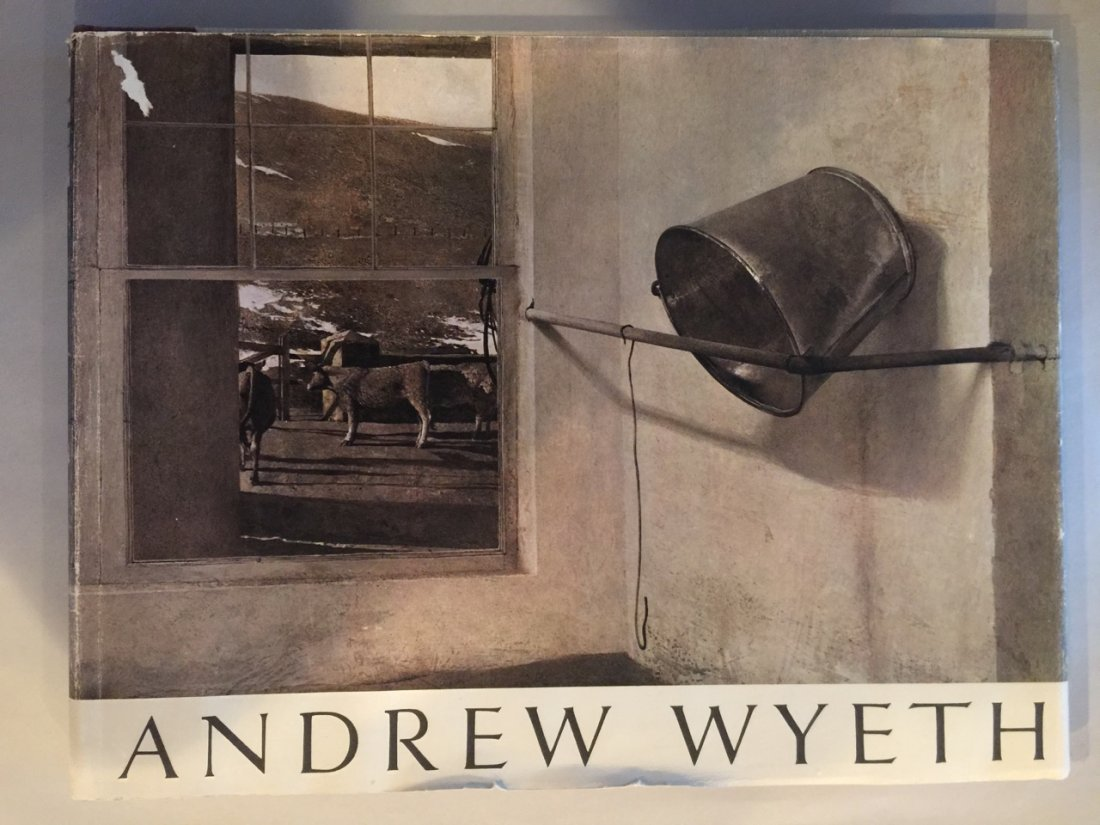 WYETH, ANDREW - Photography Book - 1968 FIRST PRINTING