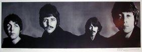 Beatles Nems Banner - Richard Avedon - On Backed On