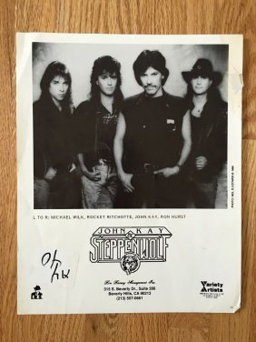 John Kay And Steppenwolf Promo Photo