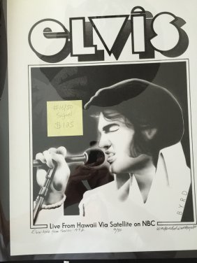 Elvis Presley - Signed - Numbered