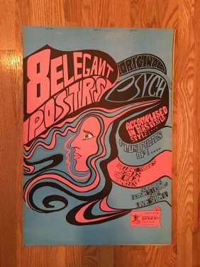 Complete Set Of Konst Psychedelic Posters !