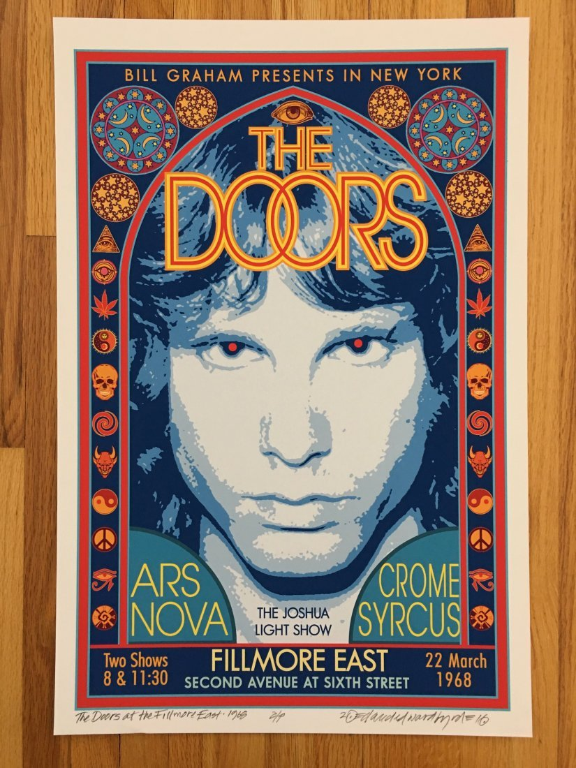 DOORS - SIGNED BY ARTIST
