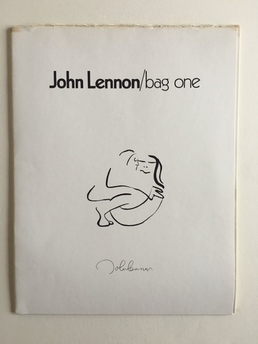 Bag One book of John Lennon Sketches