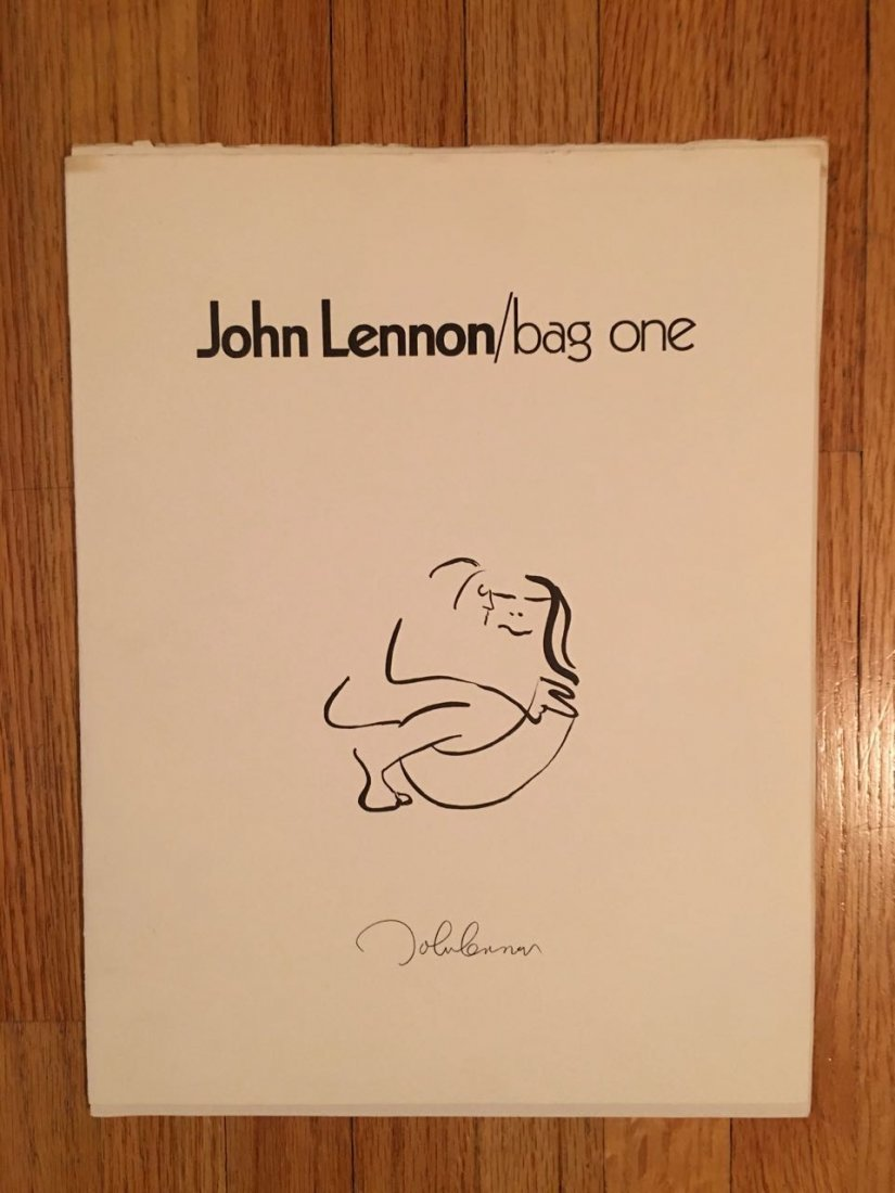 Bag One book of John Lennon Sketches - 2