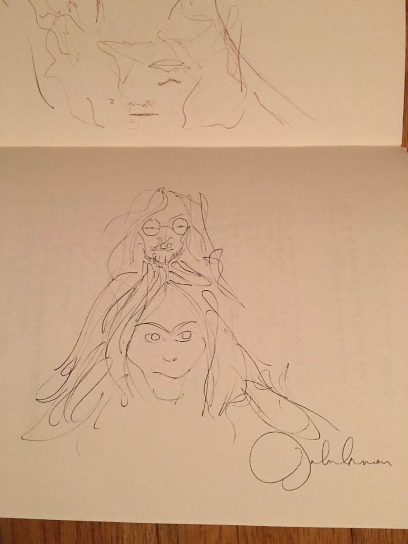 Bag One book of John Lennon Sketches - 3