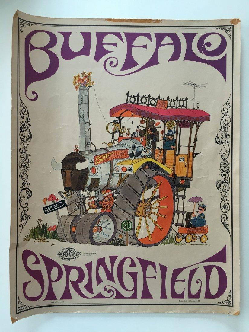 BUFFALO SPRINGFIELD - SPARTA GRAPHICS - 1ST