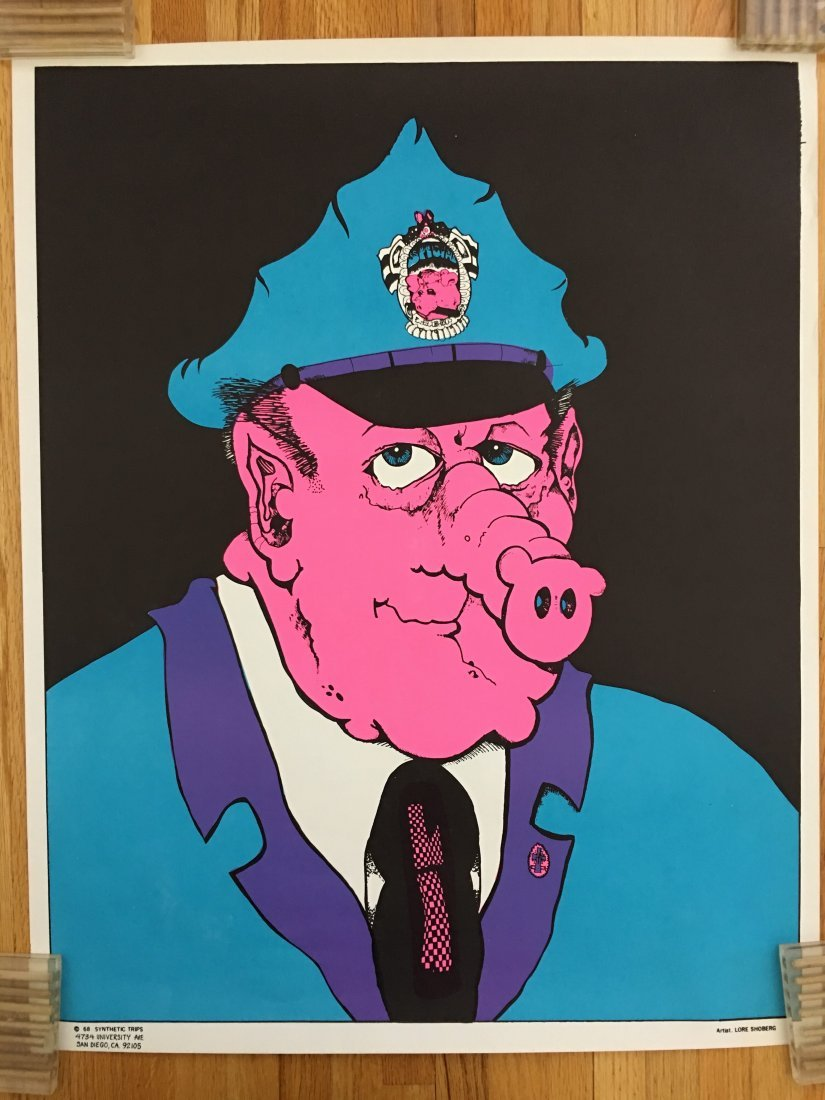 1968 PIG POSTER.