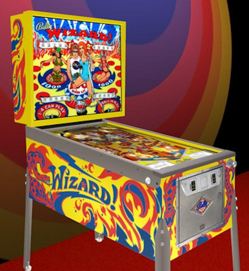 BALLY PINBALL WIZARD PINBALL MACHINE - 2