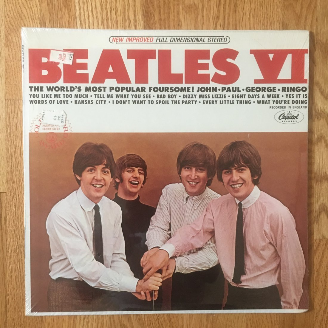 BEATLES VI - STILL SEALED ! ! !