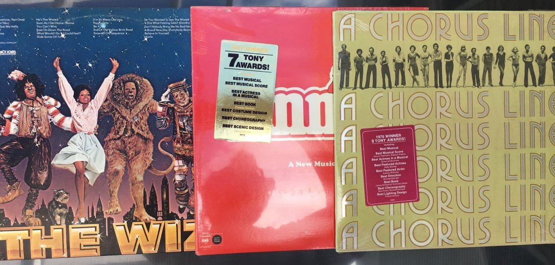 BROADWAY COLLECTION OF LP's - SEALED !