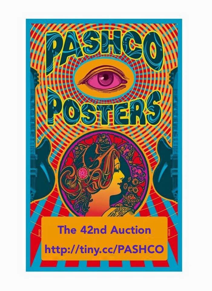 PASHCO POSTERS ROCK AUCTION