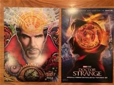 Dr Strange Rare Opening Night Movie Poster Set