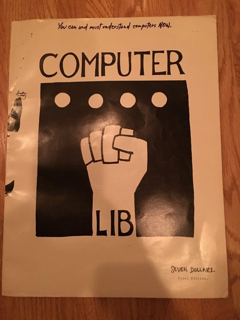 RARE BOOK - TED NELSON - COMPUTER LIB - 3rd edition