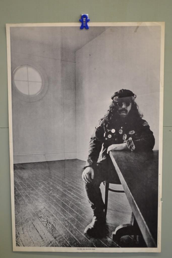 Grateful Dead Pig Pen Poster - Large - Famous Last Shot