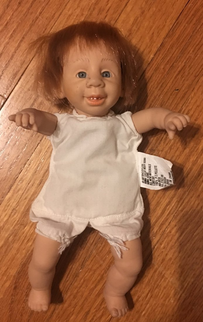 GI-GO EXPRESSION / FUNNY FACE DOLL