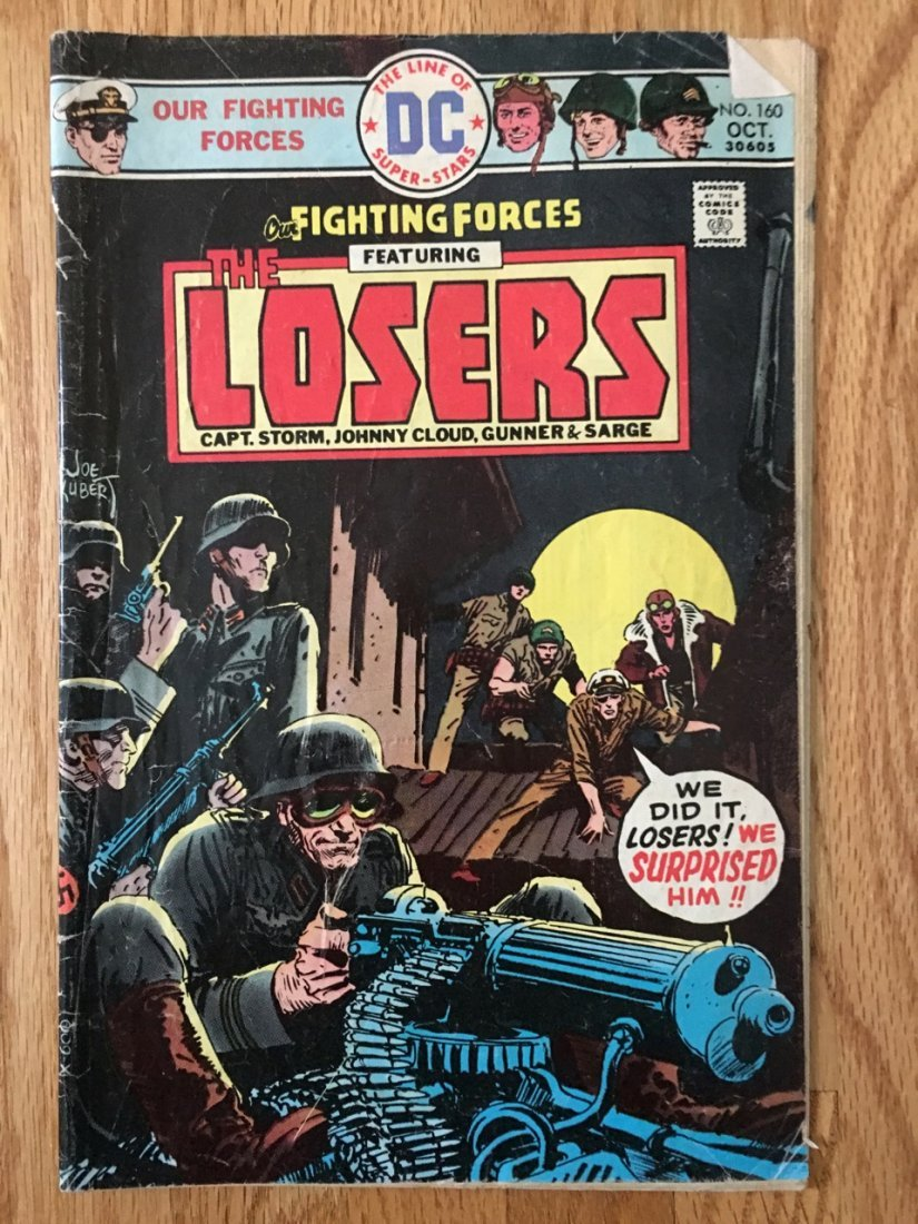 DC Comics Our FIGHTING FORCES - THE LOSERS - #160