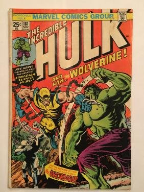 Incredible Hulk #181 - First Full Wolverine Appearance!