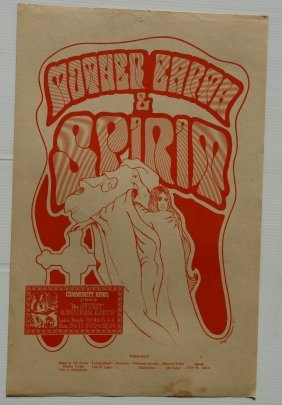 LABOR TEMPLE POSTER - Mother Earth & Spirit
