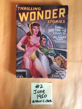 THRILLING WONDER STORIES - June 1950 - Arthur C. Clark
