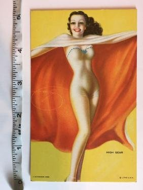 WONDERFUL MUTOSCOPE CARD - High Gear