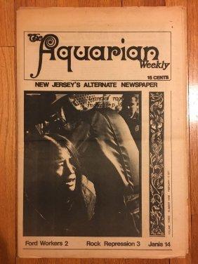 THE AQUARIAN WEEKLY - Vol 3, #9 1971