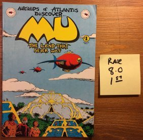 Mu: The Land That Never Was Comic – 1978