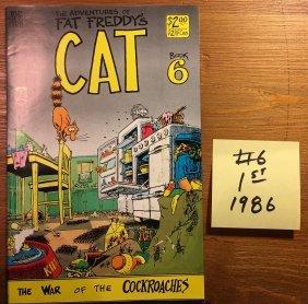 FAT FREDDY'S CAT #6 - 1986 - Gilbert Shelton