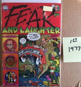 FEAR AND LAUGHTER - 1977 - 1st