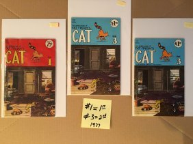THE ADVENTURES OF FAT FREDDY'S CAT #1, #3x2