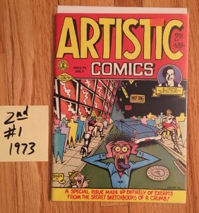 ARTISTIC COMICS #1 - 2nd - 1973