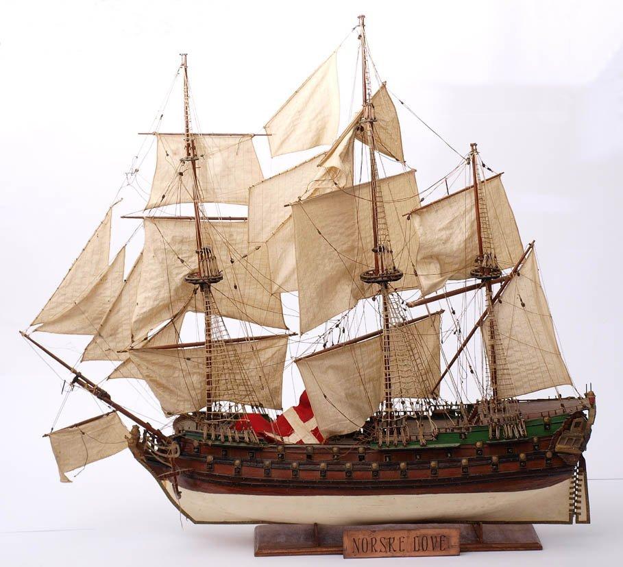 8: Schiffsmodell